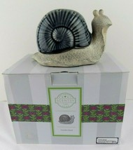 Scentsy Garden Snail Warmer Electric Retired Full Size Plus Amazon Rain ... - $49.49
