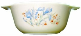 Covered  Pyrex Bowl  England Blue Iris Pattern, 1 Qt With Lid - $39.59