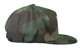 Another Enemy Football League EFL Green Camo Camouflage Snapback Baseball Hat NW image 3