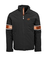NCAA Oklahoma State Cowboys Adult men Tundra Team Text Jacket,XL,Black - $54.95