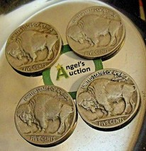 Buffalo Nickel 1930 P, 1934 P, 1936 P and 1937 P AA20BN-CN7000 image 2