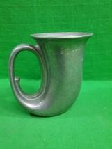 Vintage Wilton Armetale French Horn Stein ~ Mug RWP ~ USA - $15.85