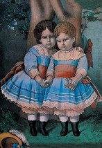 Little Sisters by Nathaniel Currier - Art Print - $19.99+