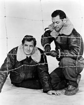 William Holden And Don Taylor In Stalag 17 Cutting Wire Fence 16X20 Canvas Gicle - $69.99