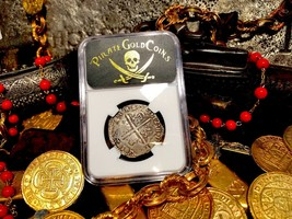 "SPAIN 4 REALES 1612 ""FULL DATE"" NGC VF PIRATE GOLD COINS TREASURE  - $1,650.00"