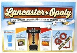 Lancaster-Opoly Monopoly Stil Brettspiel Lancaster Antilope Valley California - $35.18