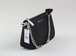 MICHAEL KORS Black Leather Jet Set Chain Medium Pouchette Bag - $1.243,47 MXN