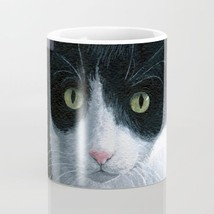 Coffee Mug Cup 11oz or 15oz Made in USA Cat 577 Tuxedo art painting L.Dumas - $19.99+