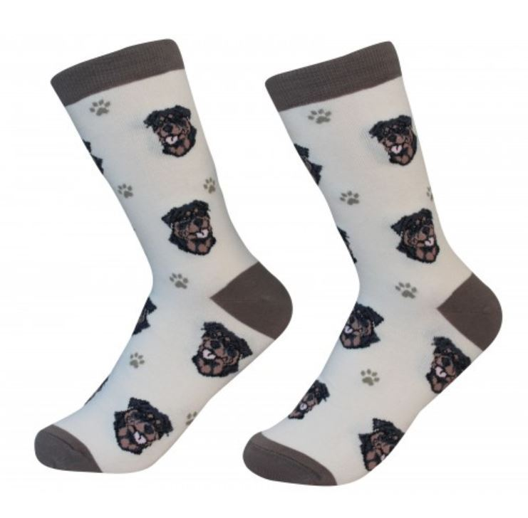 Rottweiler Socks Unisex Dog Cotton/Poly One size fits most