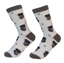 Rottweiler Socks Unisex Dog Cotton/Poly One size fits most - $11.99