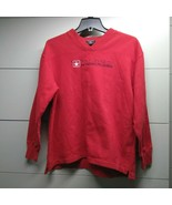 POLO JEANS CO RALPH LAUREN V Neck Pullover Sweater Red Size S/P - $34.65
