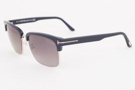 Tom Ford River Black Gold / Gray Polarized Sunglasses TF367 01D - $224.42