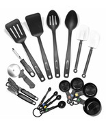 17 Mixed Spoon Turner Measuring Cup Slicer Can Opener Cooking Tool Gadge... - $33.26