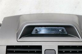 09-11 Toyota Corolla OEM Black Center Dash Top Trim Bezel Air Vents W/ Clock image 3