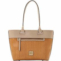 Dooney & Bourke Beacon Woven Zip Tote