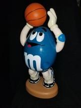 M&M's Candy Dispenser - Basketball NBA Mr. Blue Collectible  - $19.79