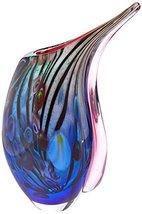 Accent Plus 15134 Dreamscape Art Glass Vase Multicolor - $46.55
