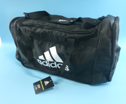 Adidas Defender III Duffle Bag, Large - Black New #5070 - $29.98