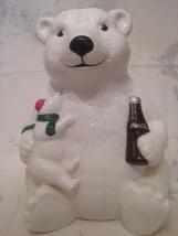 Coca-Cola Polar Bear Cookie Jar - $30.00