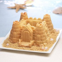 Mould for Cake And Biscuit Pastry Pastry Sand Castle Aluminium - $82.31