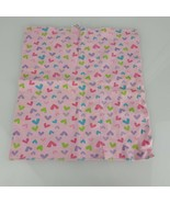 Gerber Baby Girl Cotton Burp Cloth Rag Security Blanket Pink Purple Blue... - $19.79