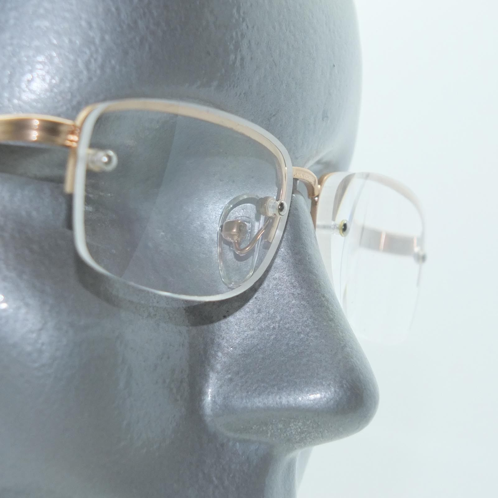 Reading Glasses Top Gold Metal Half Frame and 49 similar items