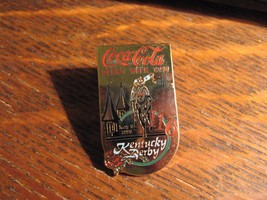 Kentucky Derby Coca Cola Pin - Vintage 1990 Coke Louisville Soda Pop Lap... - $19.79