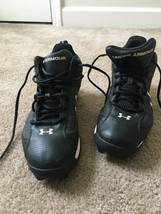 Under Armour Hammer Men's Sports Cleats Sz 10 1/2 MultiColor Athletic Shoes - $43.76