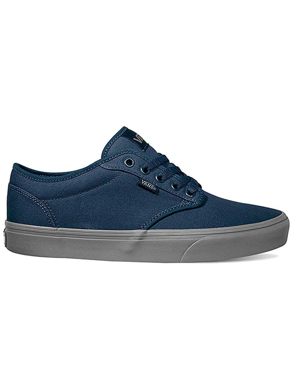 Vans Atwood (Check Liner) Dress Blue Mens Skate Shoes 6.5 WOMENS 8 BLUES NEW NIB
