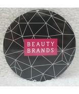 "Beauty Brands Mirror BLACK Web Purse Travel Makeup Round Light 2 3/4"" In... - $7.91"
