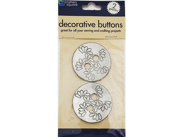 Greenbriar International Decorative Buttons, Set of 2 #947773