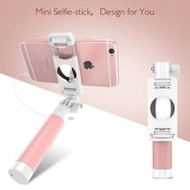 Fashion Wired Selfie Stick Candy Color Adjustable Monopod For iPhone 6 6... - $25.99