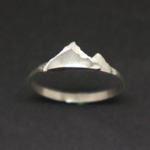 Silver Mountain Layered Ring - $42.00