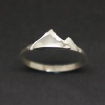 Silver Mountain Layered Ring image 1