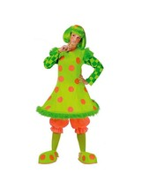 """SILLY CIRCUS """"LOLLI THE CLOWN"""" ADULT HALLOWEEN COSTUME WOMEN STANDARD ON... - $36.35"""
