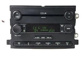 06-07 Ford Freestyle Five Hundred Mercury Montego Radio MP3 6 CD Change FO418 - $95.25