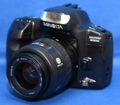 MINOLTA MAXXUM 300si SLR Vintage Film Camera f/3.5 35-70mm Lens - $30.60