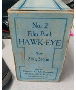 Antique No. 2 Film Pack Hawk-Eye 2 1/4 x 3 1/4 in. - $84.99