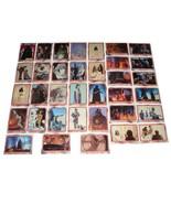 35 Original Vntg Star Wars EMPIRE STRIKES BACK Trading Cards Red Frame L... - $15.99