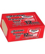 Maruchan Ramen Noodle Soup, Beef Flavor, 3 Oz, 12 Pack - $9.89