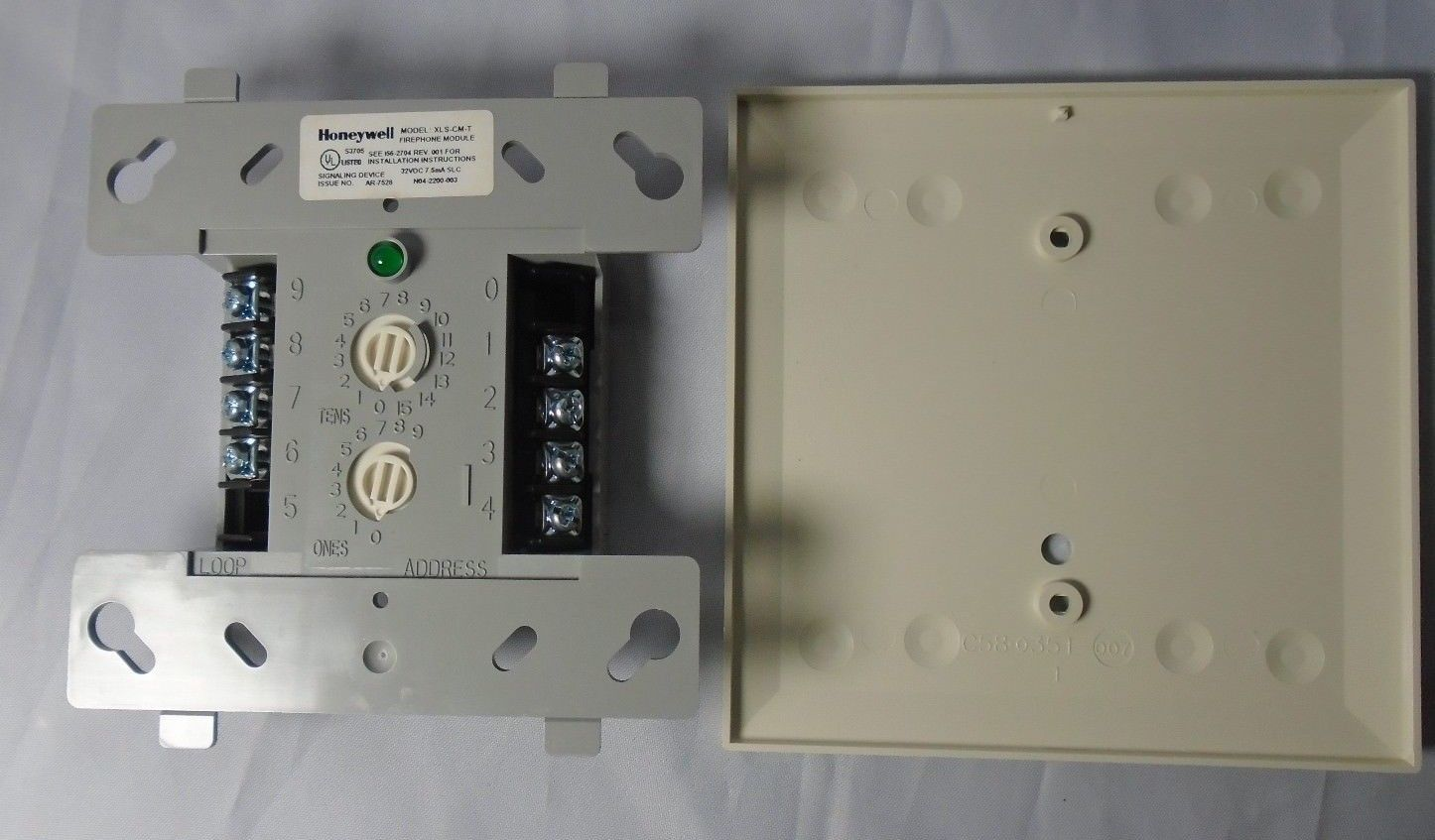 honeywell xls cm t fire alarm firephone and 50 similar items rh bonanza com Honeywell Ademco 6150 User Manual Honeywell Alarm Keypad Beeping