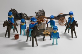 Playmobil Western USA Cavalry Special Deluxe Set #1703 - $39.59