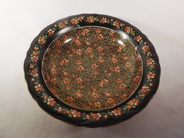 "Early Chintz Crown Ducal Delhi 10 1/2"" Serving Bowl Stoke on Trent England - $39.96"