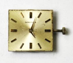 Longines 19.4 17J Mechanical Wind Watch Movement Silver Stick Dial Start... - $31.67