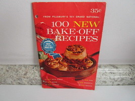 Pillsbury Bake-Off Recipes 1964 15th Bake-Off Paperback Cookbook - $12.99