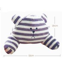 PANDA SUPERSTORE (Stripe Bear) Car Decoration Lumbar Support/Back Cushion/Chair