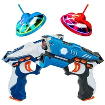 Infrared Laser Tag Guns with Flying Saucers Battle Blasters - $62.99