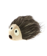 MagNICI Hedgehog Brown Hairy Stuffed Animal Magnet in Paws 5 inches 12 cm - $11.00