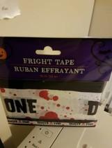 Halloween Decorations FRIGHT TAPE DANGER ZONE Brand New - $3.99