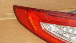 13-16 Ford Fusion LED Taillight Light Lamp Driver Left Side LH image 2
